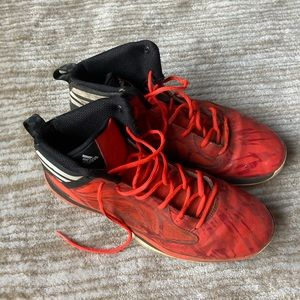 Adidas High Top Sneakers/Basketball Shoes Size 13
